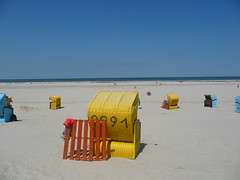 Our Beach Chair (ivlys) Tags: summer vacation nature water northsea nordsee ivlys inseljuist islandjuist