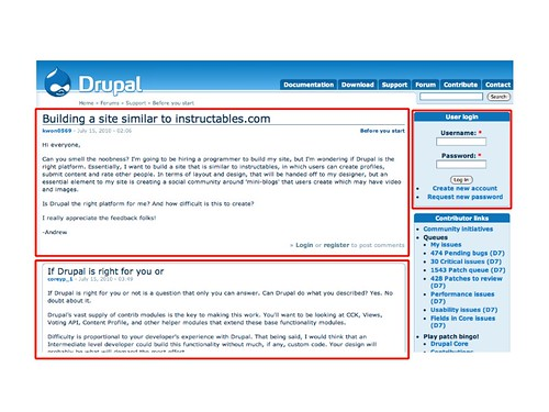 Visual Security Policy boxes on Drupal