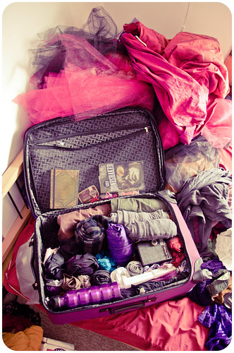 burning man suitcase: 99% packed