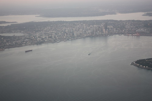 Seattle from above: 2010