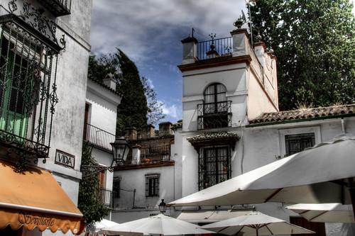 Vida Street. Seville. Calle Vida. Sevilla