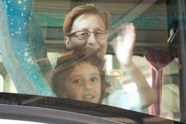 no autobús