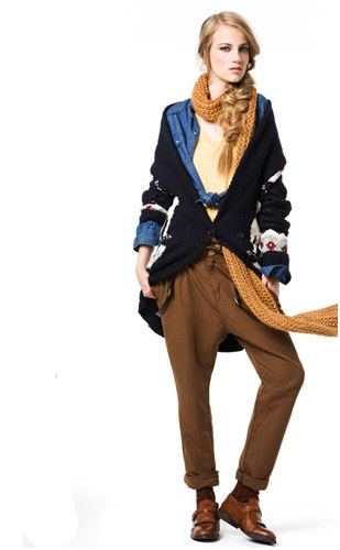 ...коллекции Zara Casual осень-зима 2010 2011.
