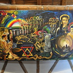 Painting depicting the Yaje experience - Parque arqueológico comunitario thumbnail