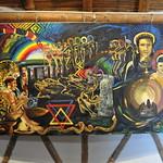 Painting depicting the Yaje experience - Parque arqueológico comunitario thumbnail