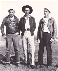 Cowboy Vernon James with Men in Leather Jackets (newmexico51) Tags: new man southwest leather vintage mexico found cowboy boots jeans jacket cap western cowboyhat homem cuffs leatherjacket hombre homme cowboyboots