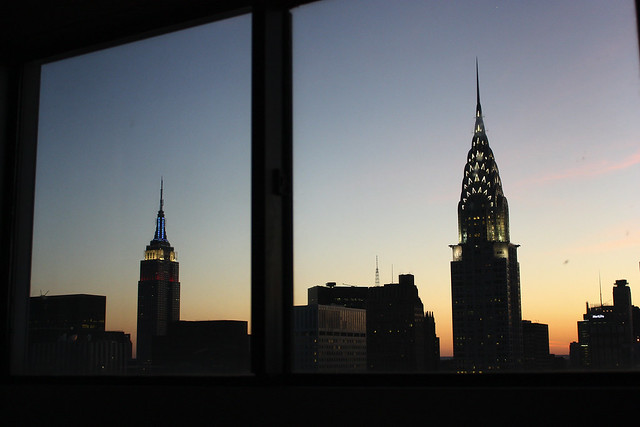 New York Skyline, by MacDara on Flickr.