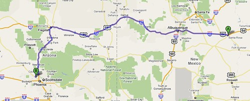 Santa Rosa to Peoria