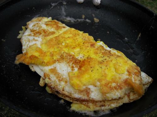 Crispy Cheese Omelet