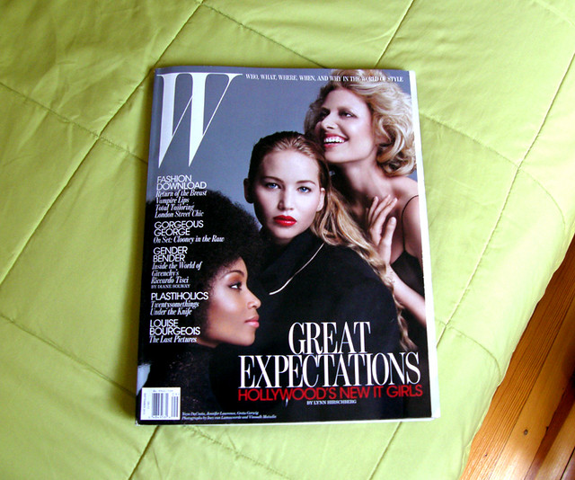Welcome Back W Magazine