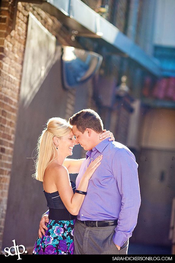Country Club Plaza, Kansas City engagement photographers