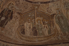 Chapel of Peace at Bagawat (XV) (isawnyu) Tags: archaeology ancient mural arch peace decorative interior painted egypt ceiling christian chapels oasis burial vault tombs necropolis biblical coptic kharga bagawat pleiades:depicts=776156
