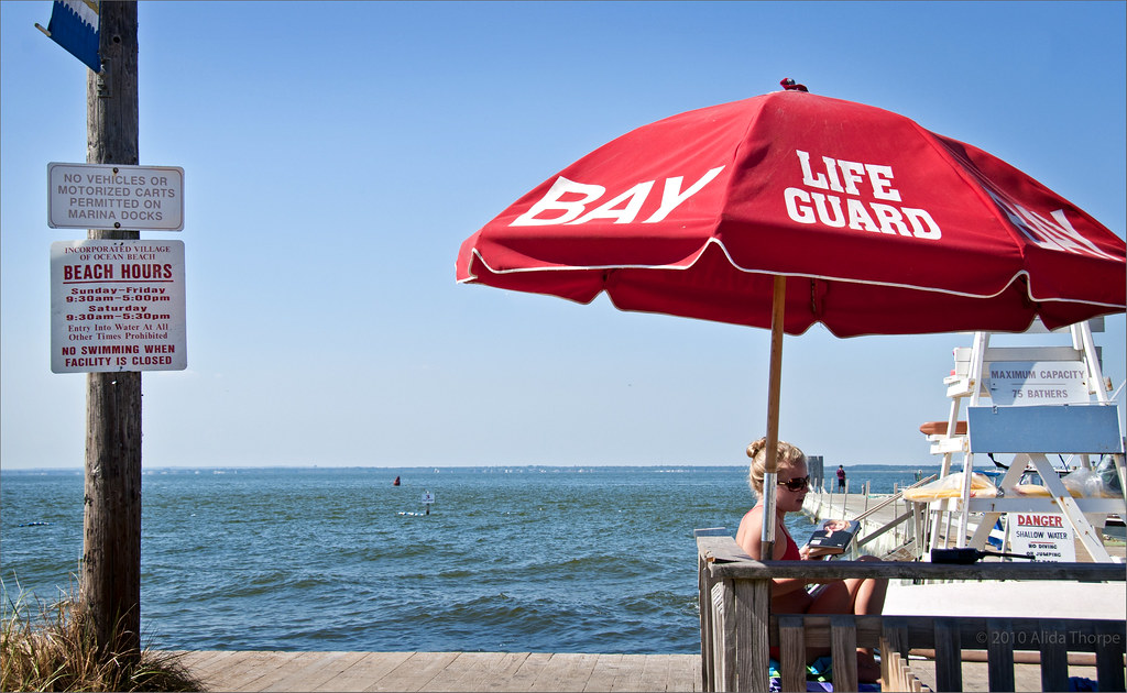 life guard umbrella