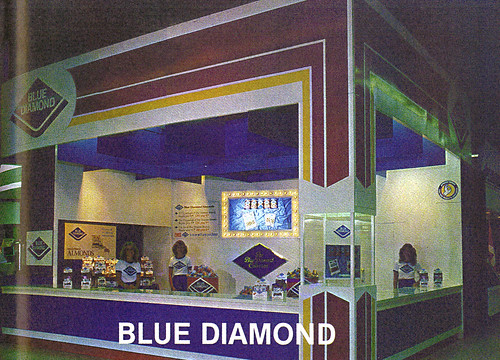 1980 CNE Food Building: Blue Diamond