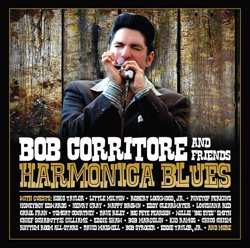 Bob Corritore and Friends - Harmonica Blues (CD)