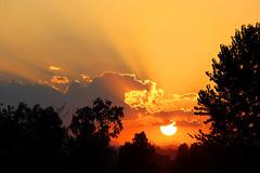 The last rays (grazanna) Tags: sunset sun canon tramonto explore rays sole tamron frontpage 18200 raggi mywinners platinumphoto colorphotoaward 1000d