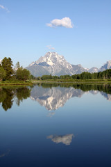 Grand Teton National Park, Wyoming (Wind Home) Tags: reflection wyoming grandtetonnationalpark oxbowbend