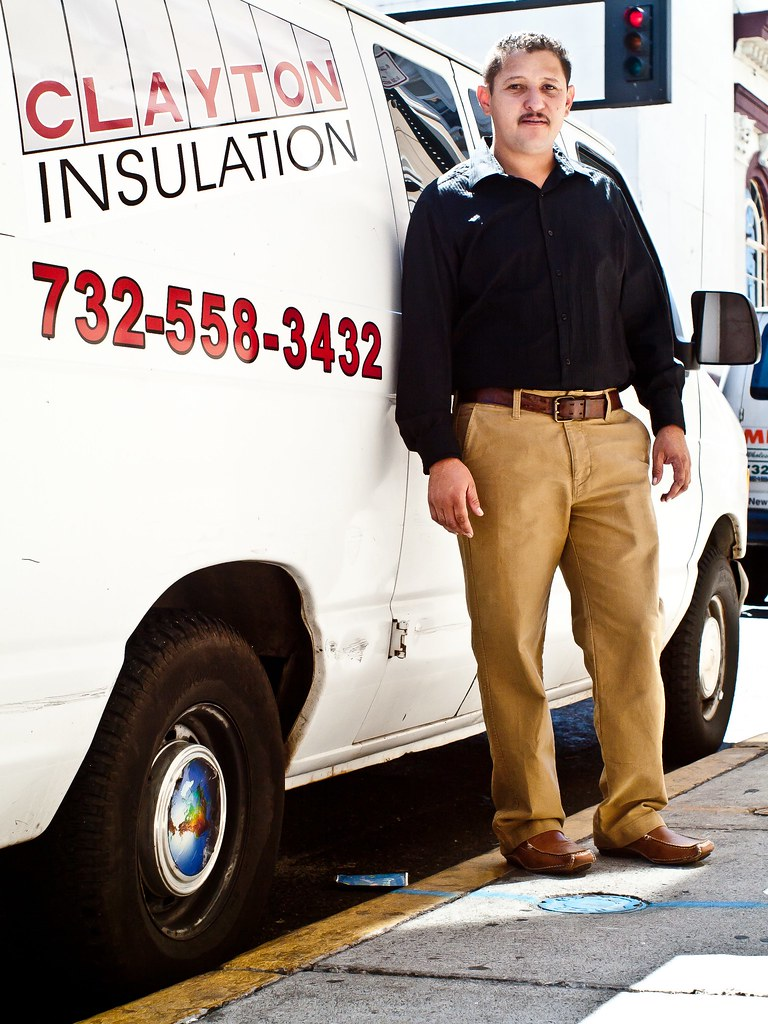 Clayton Insulation Founder Noel Castellanos has received microloans from the Intersect Fund to start and grow his business