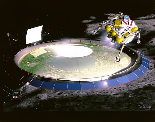 Granjas espaciales