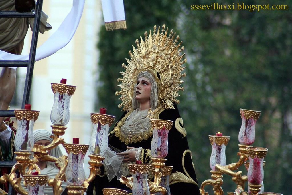 Nuestra Señora de la Concepción, Hermandad de la Trinidad. Sábado Santo 2010