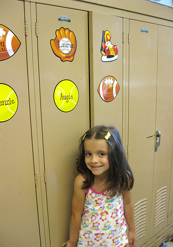Lauren's locker.