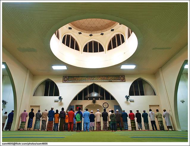 Tarawih @ Masjid Kundasang