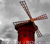 The Moulin Rouge (Theresa Elvin) Tags: paris france themoulinrouge selectivecolouring colourpopped