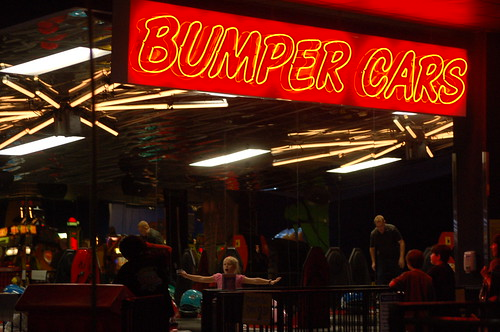 Bumper Cars, Incredible Pizza, Memphis, Tenn.