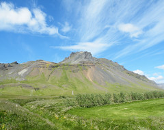 Budir (moelynphotos) Tags: blue mountain green nature clouds landscape iceland scenery valley snæfellsnes potofgold snæfellsnespeninsula moelynphotos