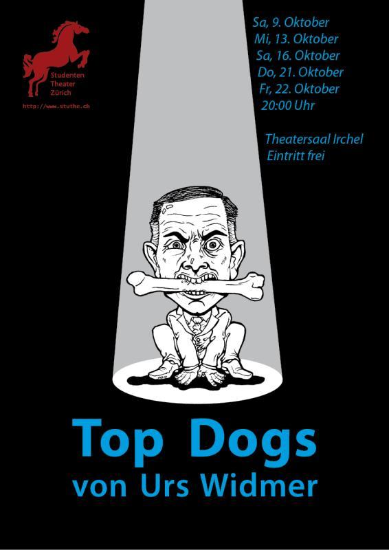 "Plakatentwurf ""Top Dogs"""