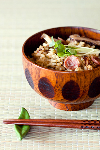 Lemongrass Clay Pot-style Brown Rice