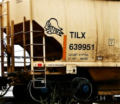 ? (mightyquinninwky) Tags: railroad train graffiti character tag graf tracks railway tags tagged railcar rails graff graphiti freight trainart rollingstock paintedtrain fr8 railart spraypaintart freightcar movingart paintedsteel freightart tilx paintedrailcar taggedrailcar 11223344556677 carfireonflickr charactersformyspacestation