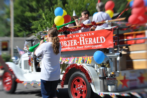 Reporter-Herald Float