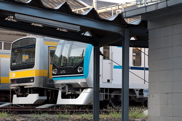 東京メトロ東西線15000系15101F 中央線経由で中野電車区へ回送される