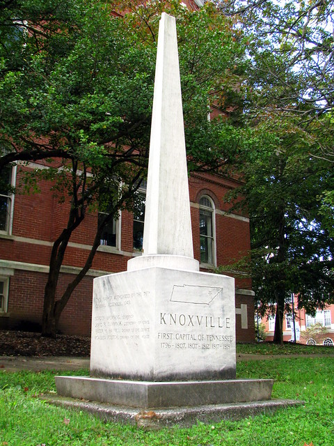 Knoxville, Capital of Tennessee Marker