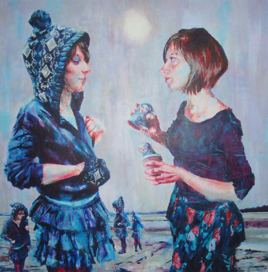 a painting of me by coll hamilton www.seefarenough.com