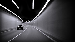 Tunnel (Etrusia UK) Tags: uk greatbritain blackandwhite cars wales speed lights nikon motorway britishisles zoom unitedkingdom britain widescreen tunnel gb ontheroad conwy penmaenmawr pictureperfect lanes d300 nikkorlens 18200mm nikonlens a55 vrlens nikon18200mm nikon18200 nikkor18200mmvr nikkor18200mm nikkor18200 nikon18200mmvr 18200mmlens conwycounty nikond300