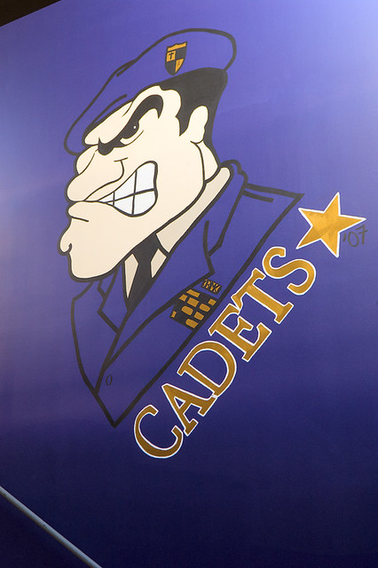 Christian Brothers College High School, in Town and Country, Missouri, USA - Cadets mascot