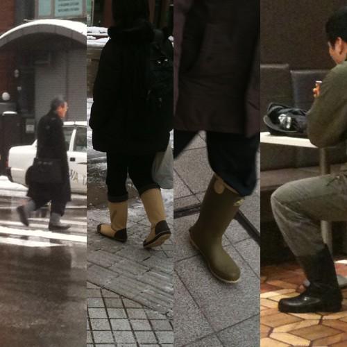 金沢長靴コレクション