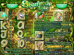 free Shamrock Isle slot mini symbols