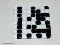 Jane Cameron - challenge 5 - iron craft - final picture - binary coaster