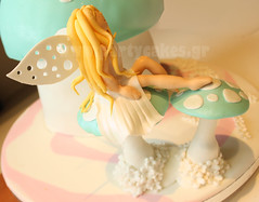 Fairy toadstool (Party Cakes By Samantha) Tags: cake girly fairy toadstool