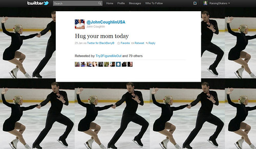 """""""Hug Your Mom Today"""" Tweet from @JohnCoughlinUSA"""