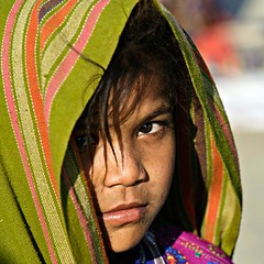 Tribal Girl 2 (Jayanand) Tags: india gujarat kutch littlerann
