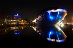 Universum Bremen (BK.DE) Tags: reflection night nacht bremen reflextion universum