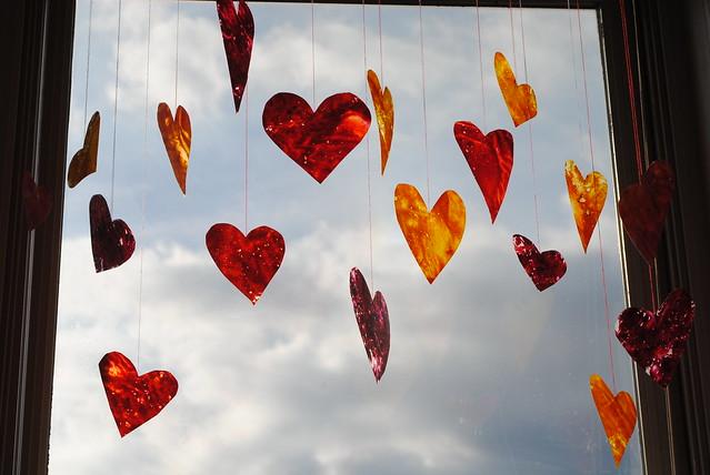 Crayon Hearts VI