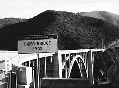 bixby bridge (tara_dash) Tags: california road ca bridge bw 120 mamiya film mediumformat blackwhite 645 bigsur pch bixby bixbybridge