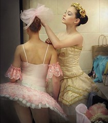 dressing room (Rick Elkins) Tags: girls ballet woman girl dance ballerina bravo candid performance dancer dressing clothes backstage preparation tutu artlibres