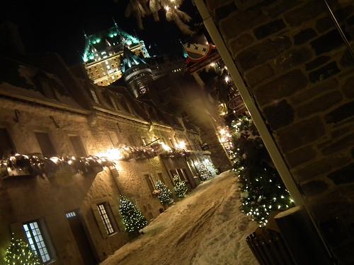 Quebec et neige