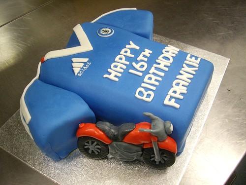 Chelsea cake and bike